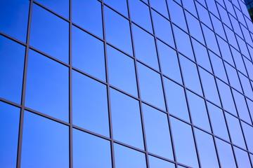 reflective rectangle windows