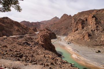 Marokko - Fahrt von Midelt nach Erfoud