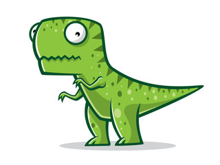 Cartoon Funny T-Rex