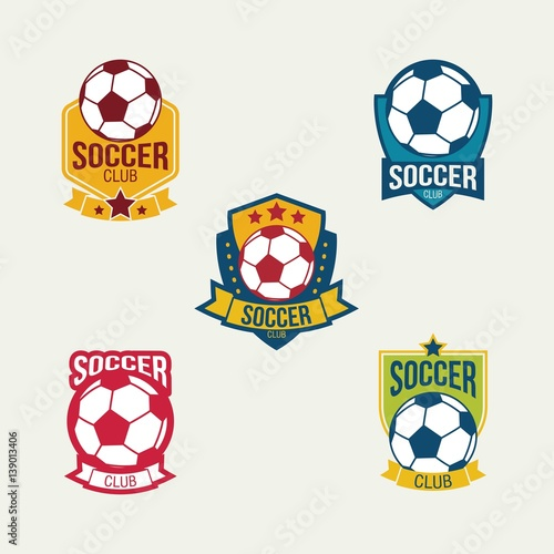 Soccer Logo Design Vector.u0026quot; Stock image and royalty-free vector files ...