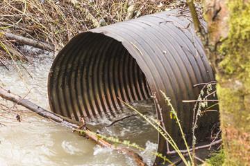 Metal Water Drain Pipe