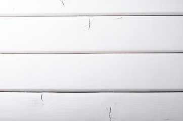 Paint Wooden Wall, Grunge Background, white color