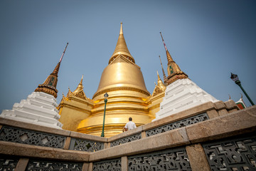 Buddhist Stupas in Bangkok