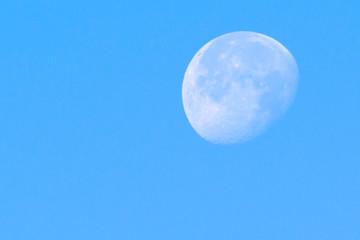 luna de dia
