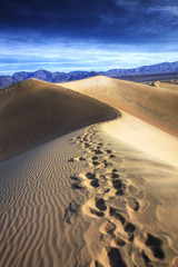 Footprints, Stovepipe Wells, Death Valley National Park