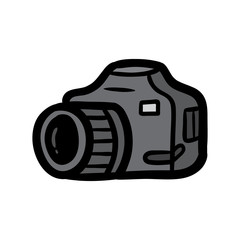 Cartoon Camera Vector Illustration