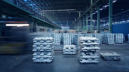 Industrial aluminum ingots