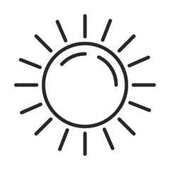 Sun vector icon vol.2