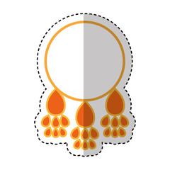 dream Catcher isolated icon vector illustration design