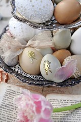 Wall Mural - romantic easter decoration