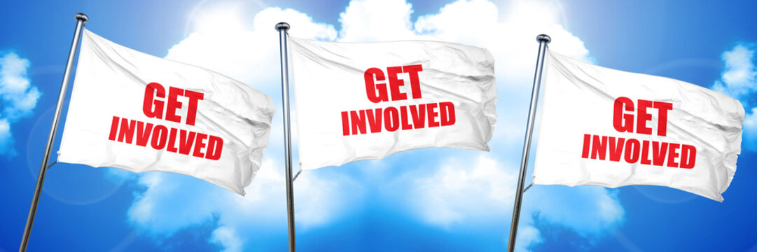 get involved, 3D rendering, triple flags