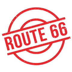 Route 66 rubber stamp. Grunge design with dust scratches. Effects can be easily removed for a clean, crisp look. Color is easily changed.