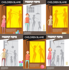 Domestic Altercation Posters Set