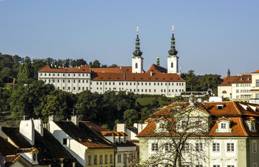 Prague, monastery, Czech Republic