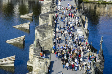 Prague, Carls bridge, Czech Republic