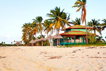 The paradise: Coco beach,  in La Boca