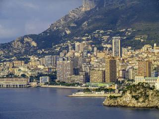 Monaco, city view