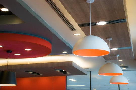 Lighting on modern ceiling ,Modern Style