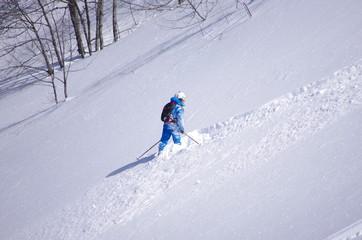 ski hors pistes - freeride