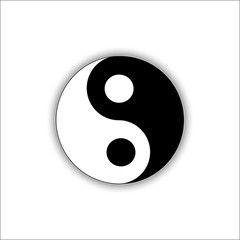 Yin Yang Vector JPEG Icon Object Picture Image Graphic Art JPG EPS10 AI Drawing