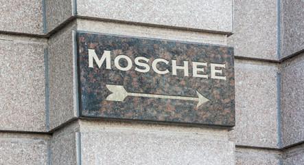 Schild 204 - Moschee