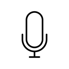 Essential Icons - Voice (Outline)