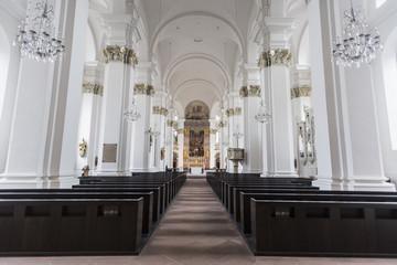 Hiedelberg Jesuit Church interior