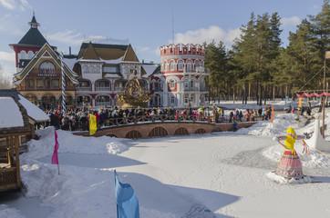 Русские народные гулянья посвященные проводам зимы