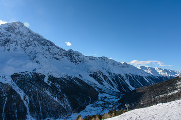 Winter moutain view II