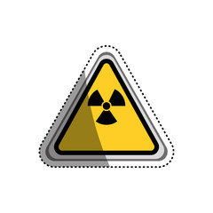 danger and warning sign icon vector illustration graphic design