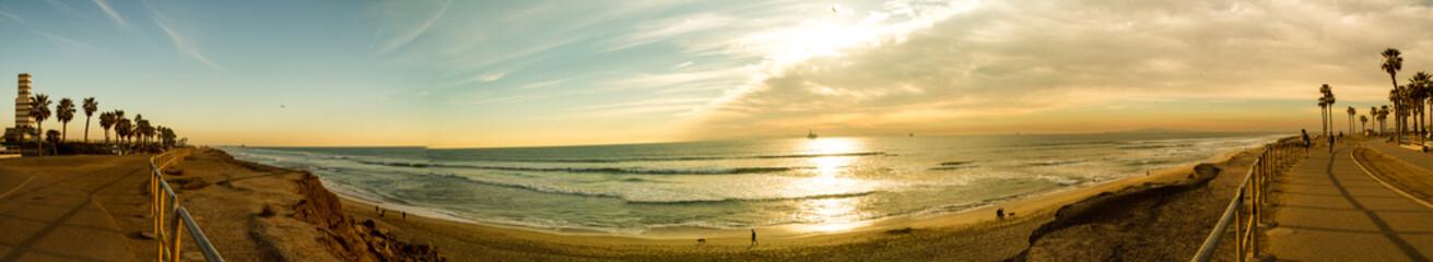 Large North Huntington Beach, California Panorama
