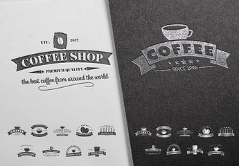 27 Coffee-Themed Labels