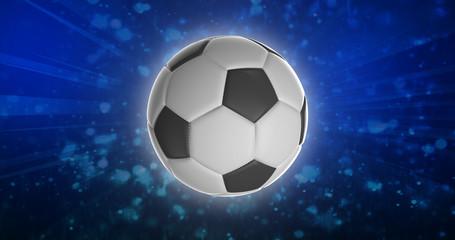 Ballon de Football 3D Haute Résolution 2