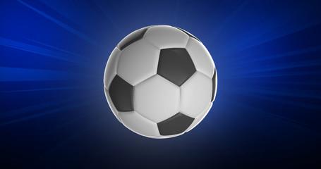 Ballon de Football 3D Haute Résolution 1