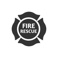 BW Icons - Firefighter emblem