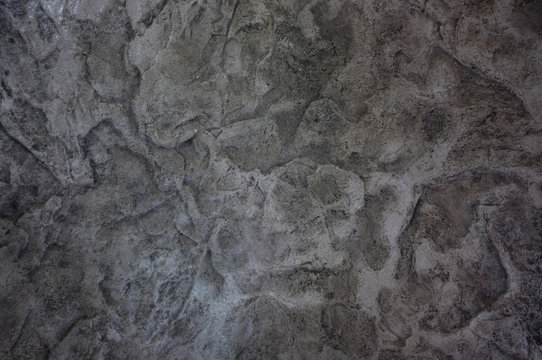 Close up stamped concrete  background texture , 3d Material