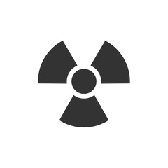 BW Icons - Radioactive symbol
