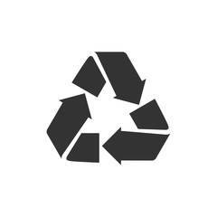 BW icon - Recycle symbol