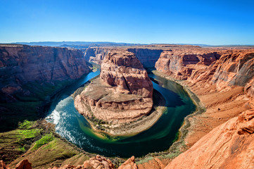 Colorado River at Horseshoe Bend, Arizona