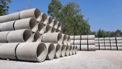precast concrete water drainage pipe