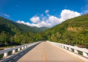 Bridge Corssing a River Near Roxas, Palawan