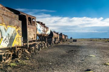 Cementerio de Trenes – der Eisenbahn Friedhof von La Paz