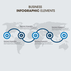 Modern Infographic Cycle Template