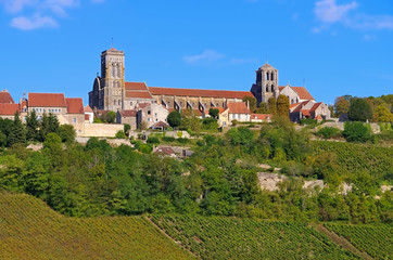 Vezelay Basilika Sainte-Madeleine  - Abbaye Sainte-Marie-Madeleine de Vezelay