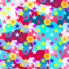 psychedelic abstract geometric pattern