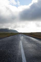 Strada dritta in Islanda