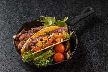 タコスセット Mexican food tacos set