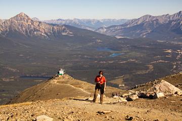 Der Blick vom Gipfel von Whistler