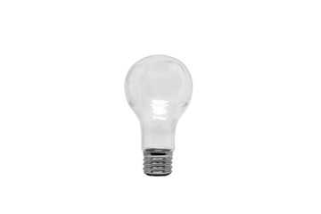 bulb lamp isolate on white background