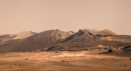Planet Mars fictional landscape